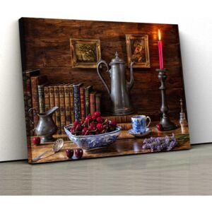 Tablou Canvas - Vintage table 1 - 30x50cm (80,00 Lei)