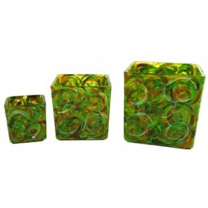 Set sticla pictata GREEN