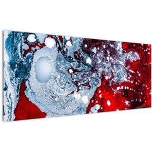 Tablou abstract (120x50 cm)