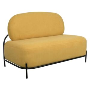 Canapea galbena Sofa Polly Yellow | WHITE LABEL LIVING