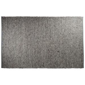 Covor lana gri deschis 160x230 si 200x300 Pure Light Grey ZUIVER - 160x230 cm
