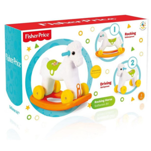 Fisher Price Jucarie 2 In1 Calut Balansoar Favi Ro