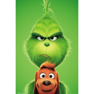 The Grinch - Grinch and Max Poster, ( x cm)