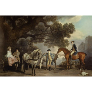 Melbourne and Milbanke Families, Reproducere, George Stubbs