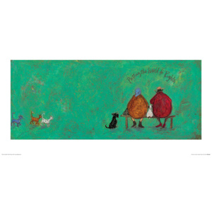 Sam Toft - Putting the World to Rights Reproducere, (60 x 30 cm)