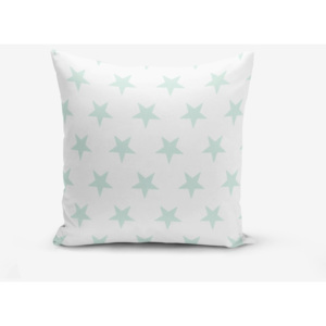 Față de pernă cu amestec din bumbac Minimalist Cushion Covers Cloud Blue Star, 45 x 45 cm