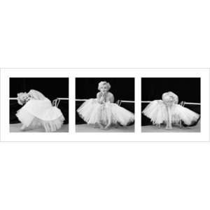 Marilyn Monroe - Ballerina Triptych Reproducere, (95 x 33 cm)