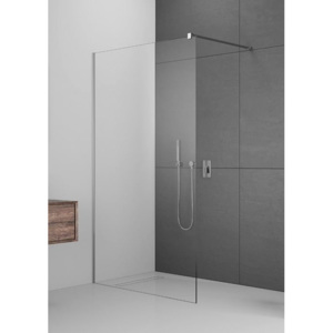 Cabina de dus Walk-In Radaway Modo New II, 75 x H200 cm, sticla transparenta
