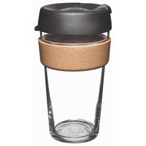 Cană de voiaj cu capac KeepCup Brew Cork Edition Espresso, 454 ml