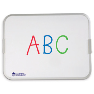 Learning Resources Tabla magnetica alba