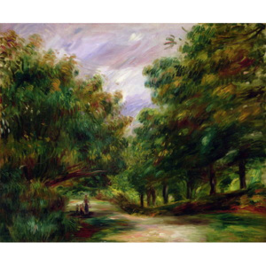 The road near Cagnes, 1905 Reproducere, Pierre Auguste Renoir