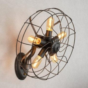 Aplică de perete Home Lighting FAN, industrial