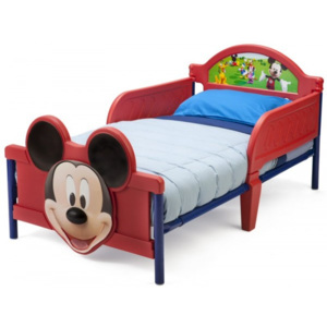 Delta Children Pat cu cadru metalic Disney Mickey Mouse 3D