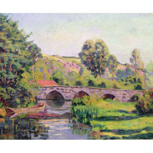 The Bridge at Boigneville, c.1894 Reproducere, Jean Baptiste Armand Guillaumin