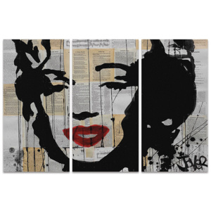 Loui Jover - Marilyn Tablou Canvas, (150 x 100 cm)