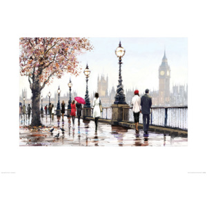 Richard Macneil - Thames View Reproducere, (80 x 60 cm)
