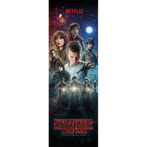 Stranger Things - One Sheet Poster, (53 x 158 cm)