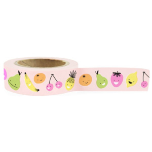 Bandă adezivă washi Ohh Deer Fruity