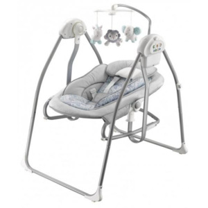 Leagan balansoar 2 in 1 Baby Mix BY020 Grey