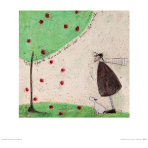 Sam Toft - The Apple Doesn't Fall Far From The Tree Reproducere, (40 x 40 cm)