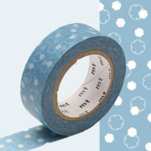 Bandă decorativă Washi MT Masking Tape Severin, rolă 10 m
