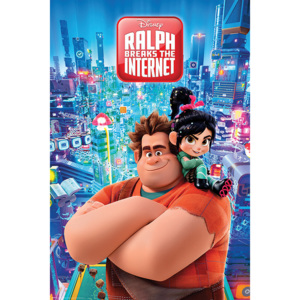 Ralph Strica-Tot - Ralph Breaks the Internet Poster, (61 x 91,5 cm)