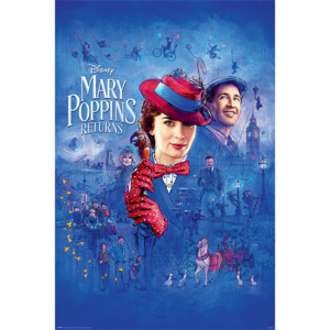 Mary Poppins Revine - Spit Spot Poster, ( x cm)
