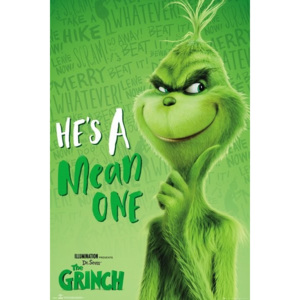 The Grinch - Solo Poster, (61 x 91,5 cm)