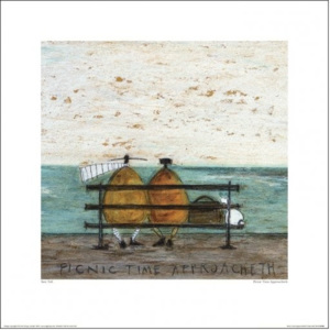 Sam Toft - Picnic Time Approacheth Reproducere, (40 x 30 cm)