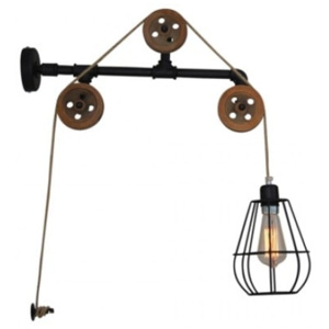 Aplică/Lampă de perete Home Lighting ULBAR Wall, industrial