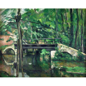 The Bridge at Maincy, or The Bridge at Mennecy, or The Little Bridge, c.1879 Reproducere, Paul Cezanne