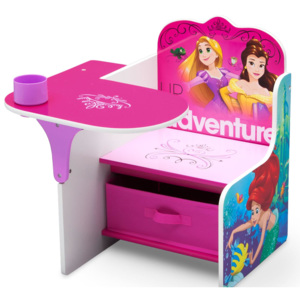 Delta Children Scaun multifunctional din lemn Disney Princess Up For Adventure