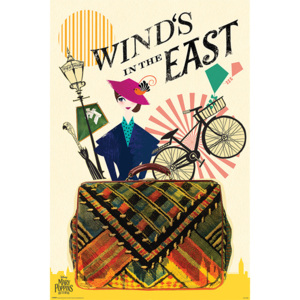 Mary Poppins Returns - Wind in the East Poster, (61 x 91,5 cm)