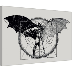 Batman - Dark Arts Tablou Canvas, (80 x 60 cm)