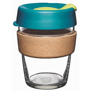 Pahar de voiaj cu capac KeepCup Brew Cork Edition Turbine, 340 ml