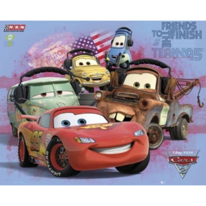 CARS 2 - group Poster, (50 x 40 cm)