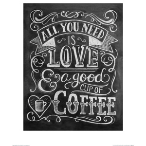 Lily & Val - Coffee Reproducere, (40 x 50 cm)