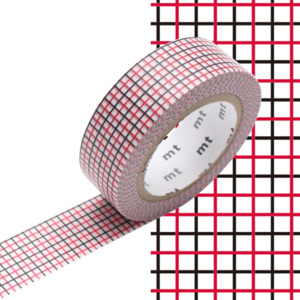 Bandă decorativă Washi MT Masking Tape Avril, rolă 10 m