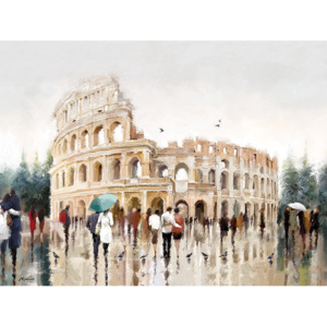 Richard Macneil - Colosseum, Rome Tablou Canvas, (80 x 60 cm)