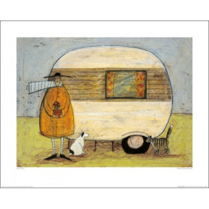 Sam Toft - Home From Home Reproducere, (50 x 40 cm)