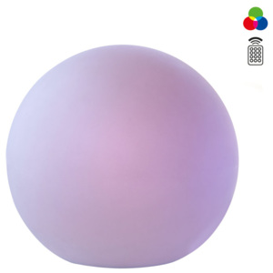 Glob iluminat exterior LED Redo BALOO multicolor ø380 mm