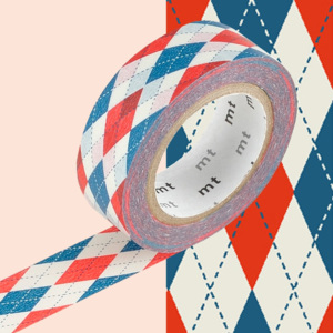 Bandă decorativă Washi MT Masking Tape Eveline, rolă 10 m