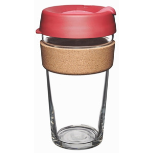 Cană de voiaj cu capac KeepCup Brew Cork Edition Thermal, 454 ml
