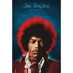 Jimi Hendrix - Both Sides of the Sky Poster, (61 x 91,5 cm)