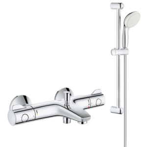 Pachet: Baterie cada Grohe Grohtherm 800-34567000, Set dus New Tempesta 100-27853001-Gro240