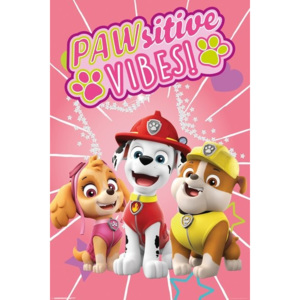 Paw Patrol - Pawsitive Vibes Poster, (61 x 91,5 cm)