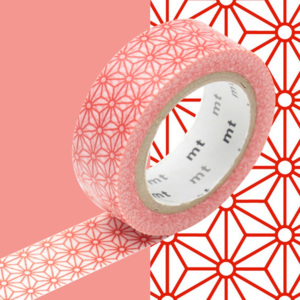 Bandă decorativă Washi MT Masking Tape Honorine, rolă 10 m