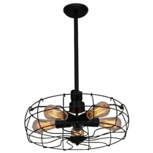 Lustră tip pendul Home Lighting FAN, industrial