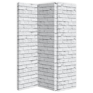 Arthouse Paravan - White Brick 120x150 cm