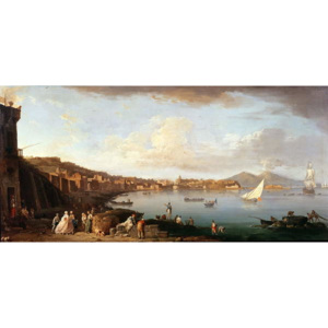 Bay of Naples from the North Reproducere, Claude Joseph Vernet